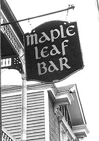 The Maple Leaf Bar