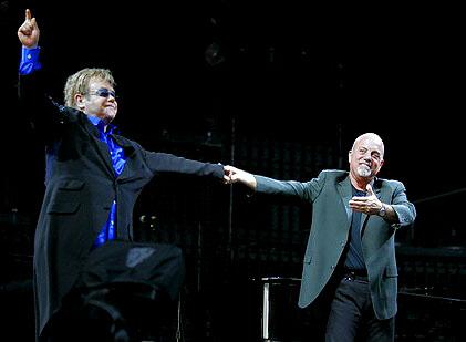 Joel Elton Elton John Billy Joel