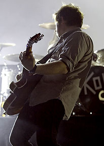 kings of leon sex on fire saturday night live in Kentucky