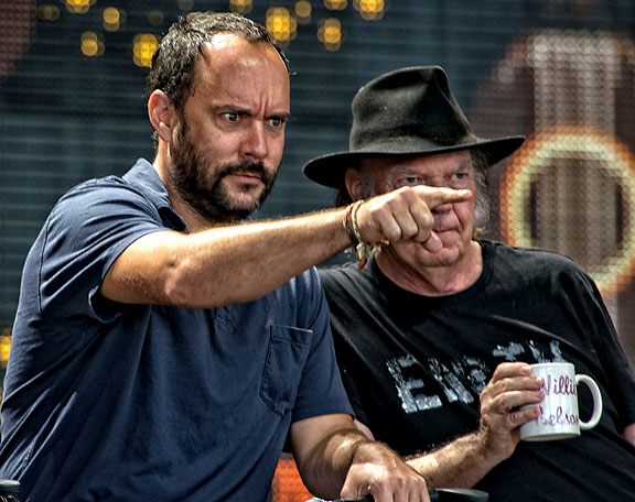 Dave Matthews and Neil Young